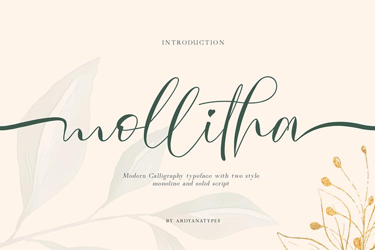 Mollitha Font