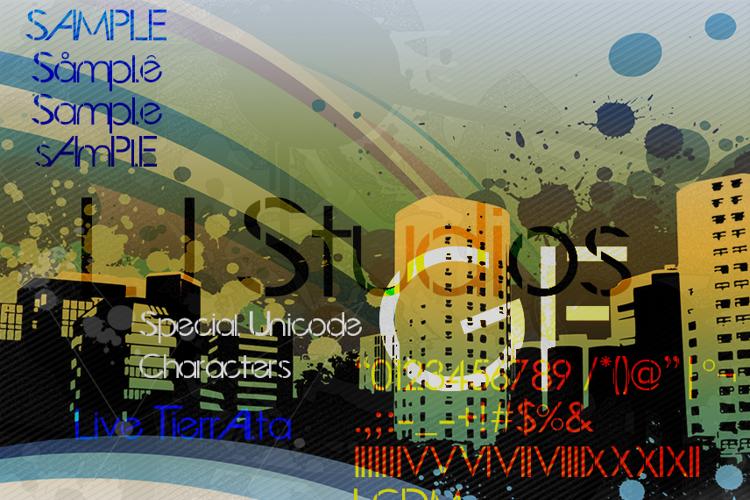 LJ Studios GF Font