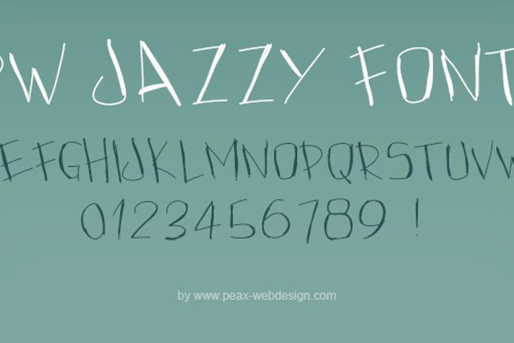 PWJazzy Font