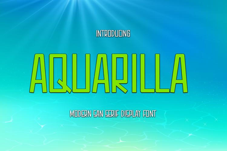 Aquarilla Font
