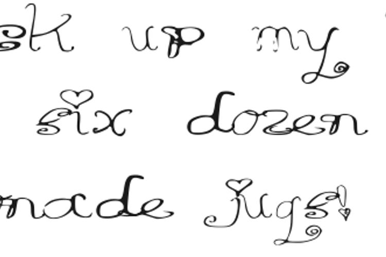 Riordon Fancy Font