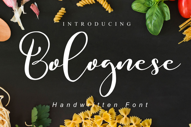 Bolognese Font