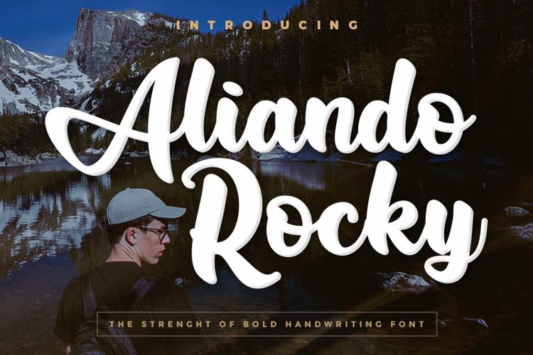Aliando Rocky Font