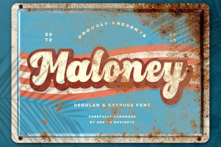 Maloney Font