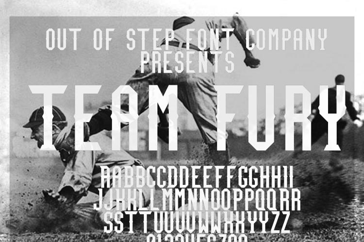Team Fury Font