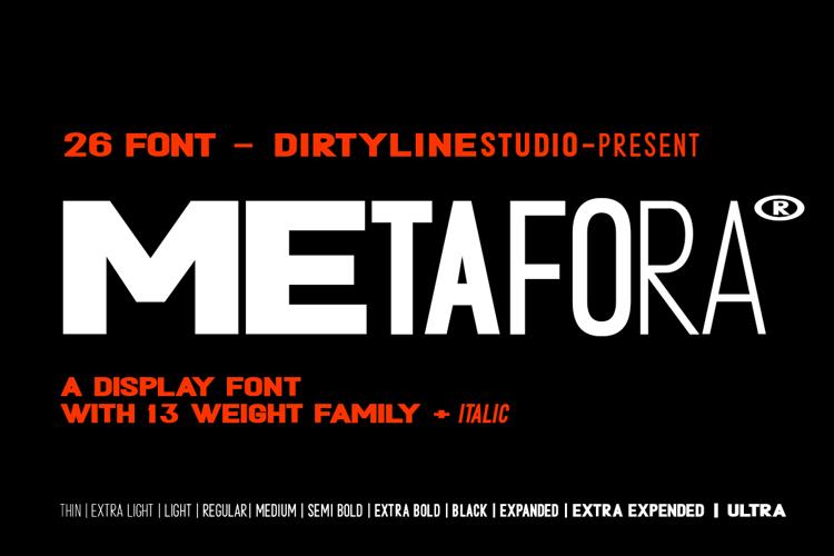 METAFORA Font