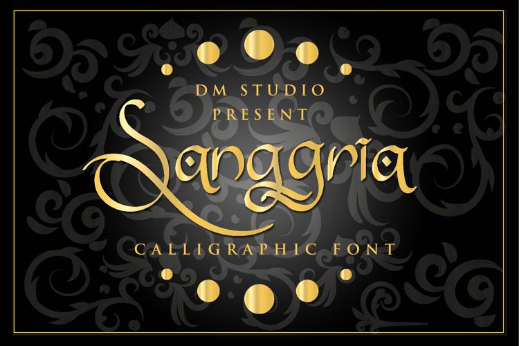 Sanggria Font