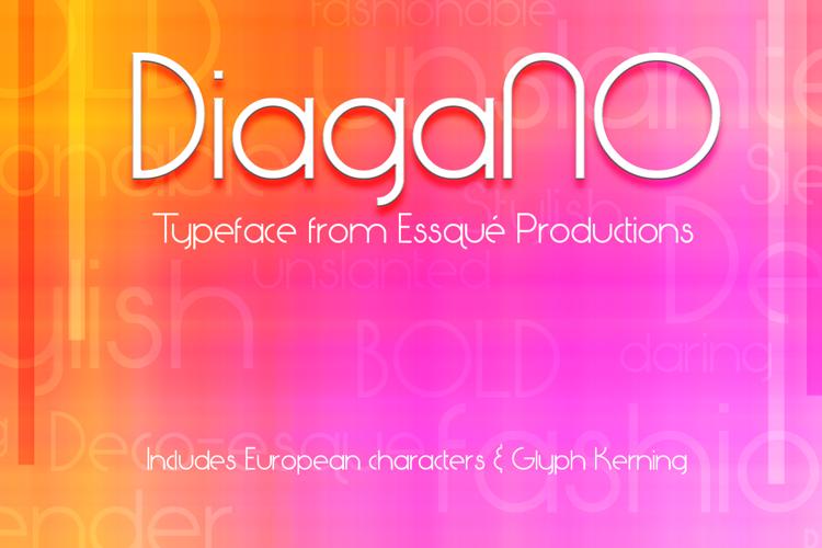 DiagaNO Font