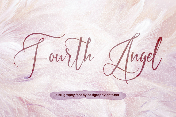 Fourth Angel Font