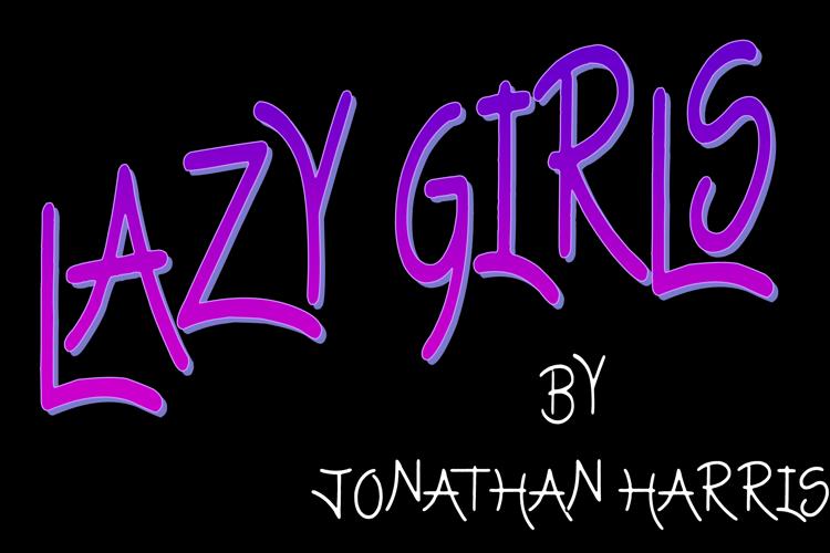 Lazy Girls Font