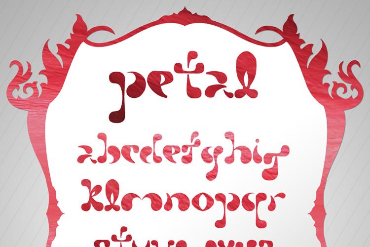 Petal Font