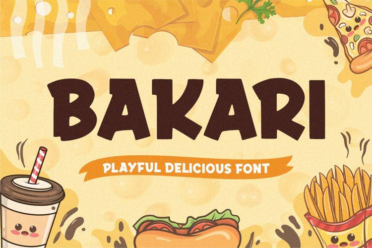 Bakari Font