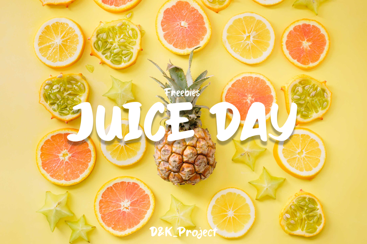 Juice Day Font