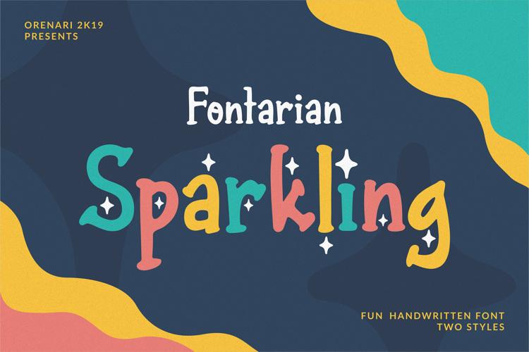 Fontarian Sparkling Font