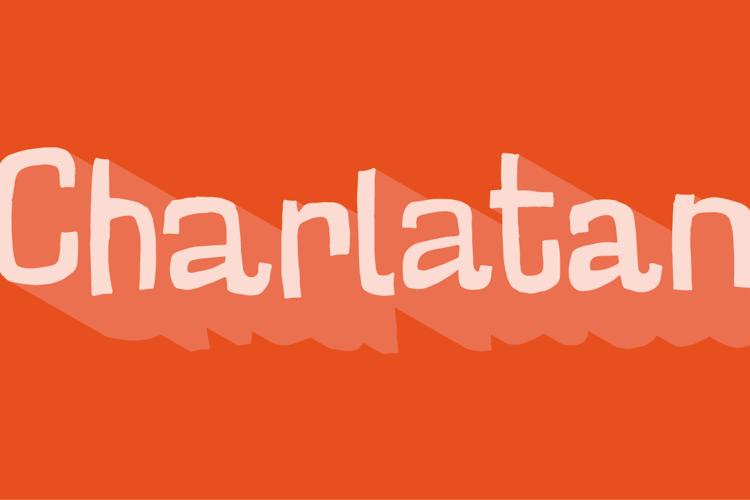 Charlatan DEMO Font