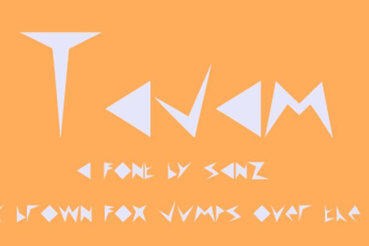 Tajam Font