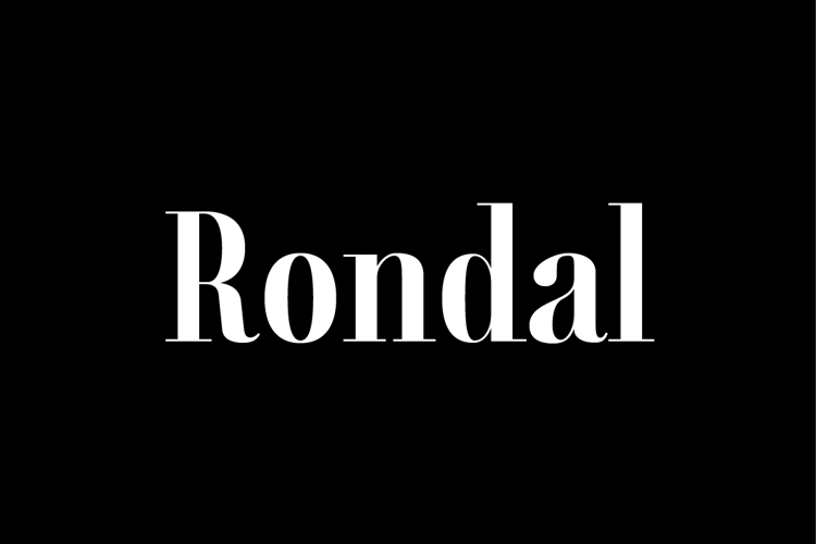 Rondal Font
