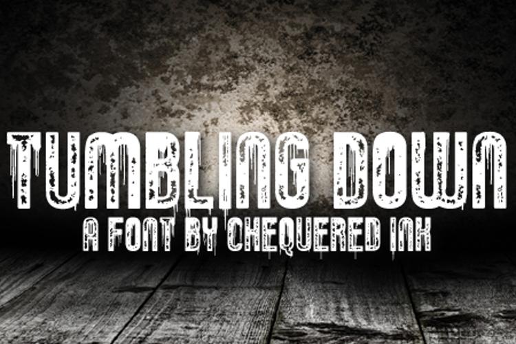 Tumbling Down Font