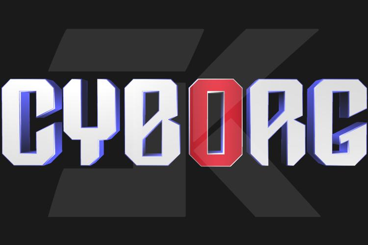 DC Cyborg Font