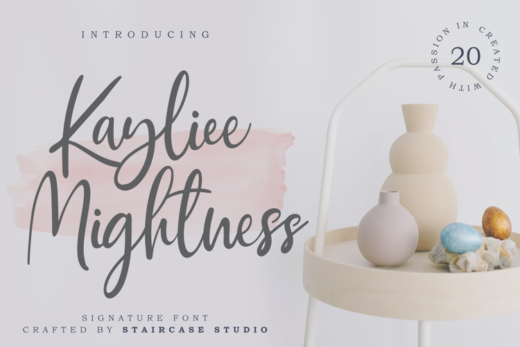 Kayliee Mightness Font