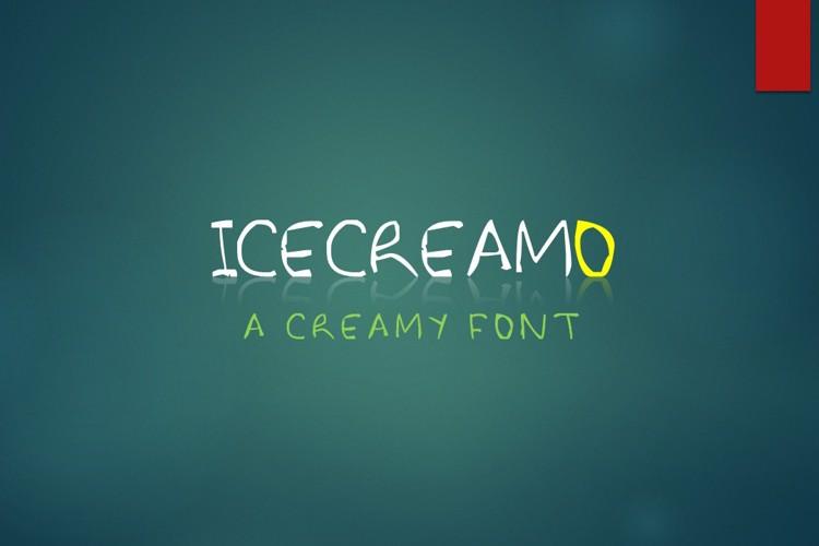 Icecreamo Font