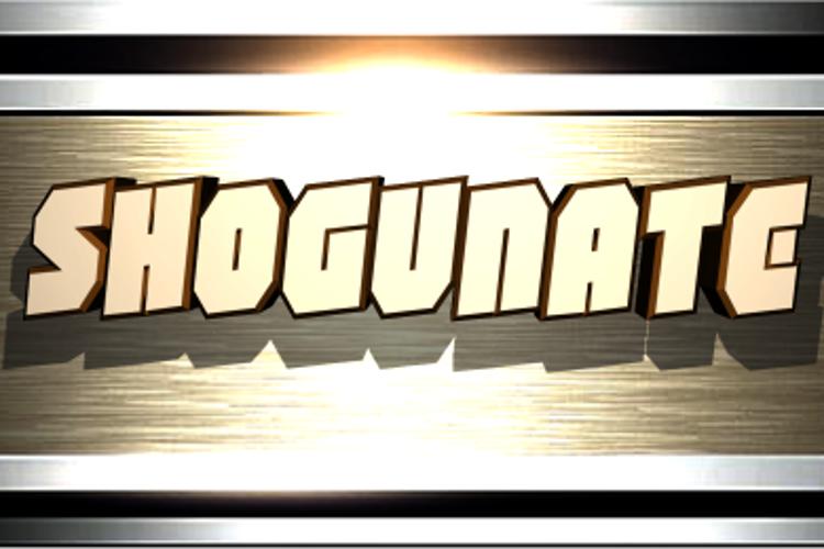 Shogunate Font