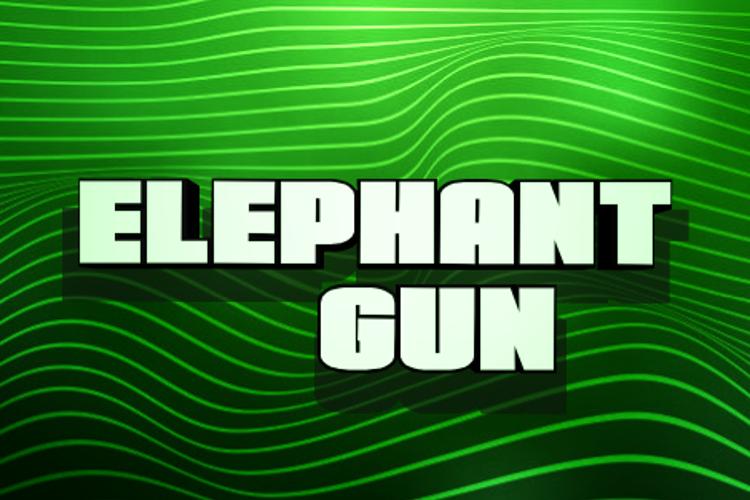 Elephant Gun Font