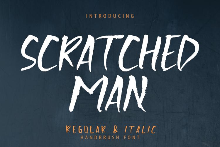 Scratchedman Font