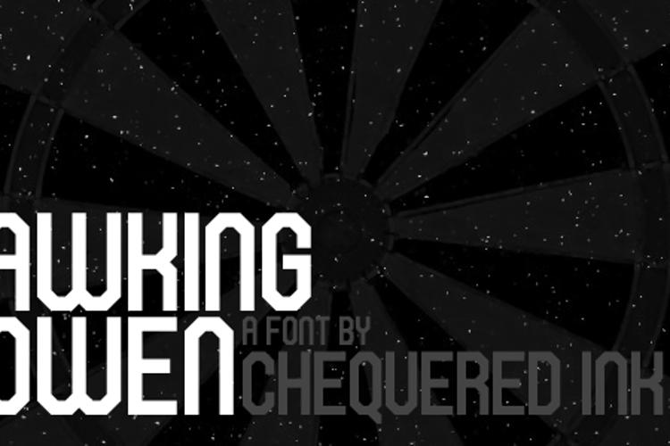 Hawking Bowen Font