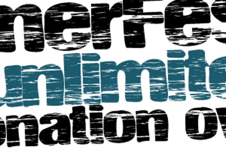 SummerFestival Font