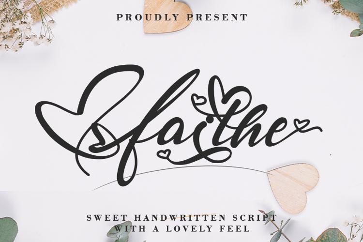 Faithe Font