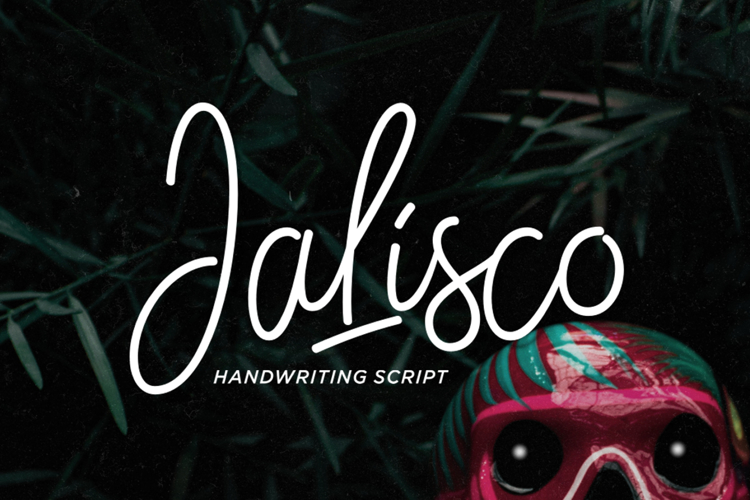 Jalisco Script Demo Font