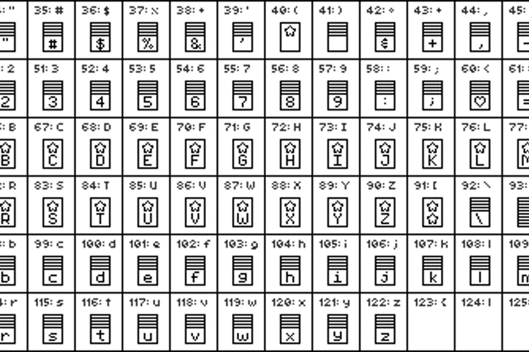 Pixelstars & Stripes Regular Font