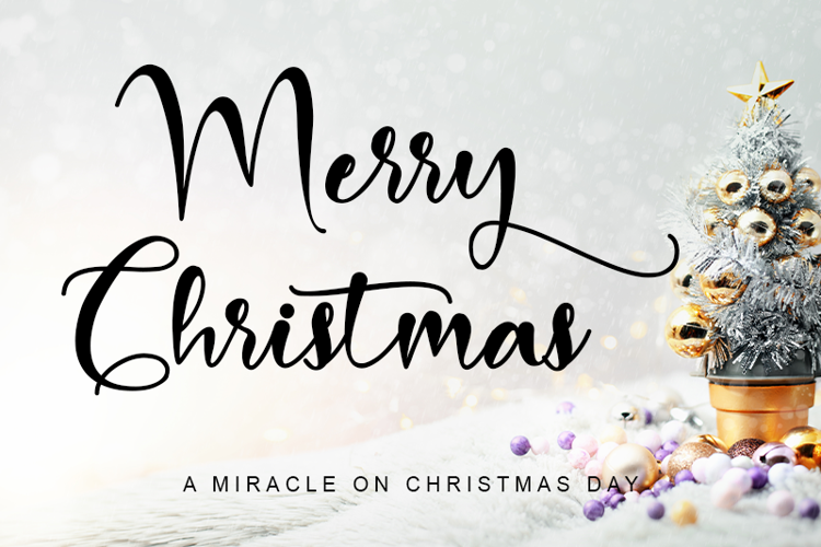Merry Christmas Baby Font