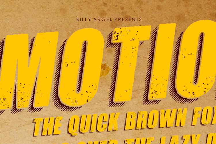 MOTION Font