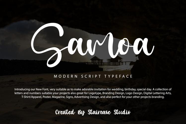 Samoa Font