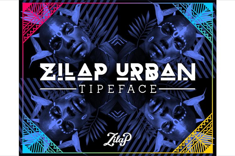 Zilap Urban Font