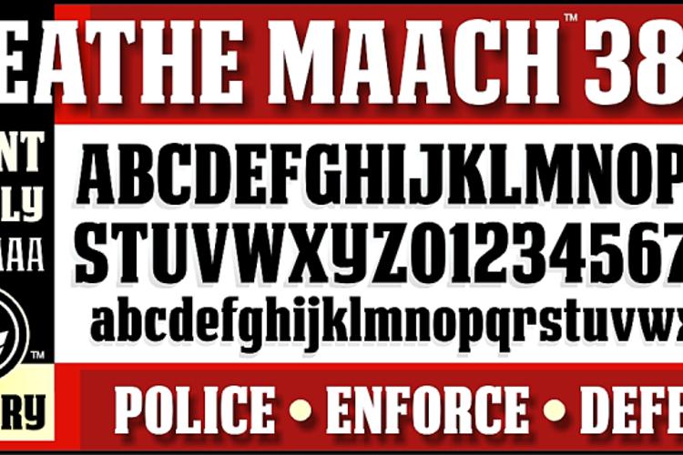 DEATHE MAACH NCV Font
