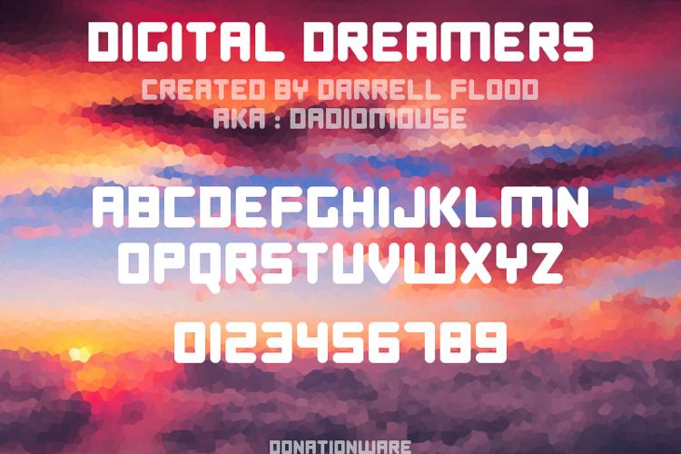 Digital Dreamers Font