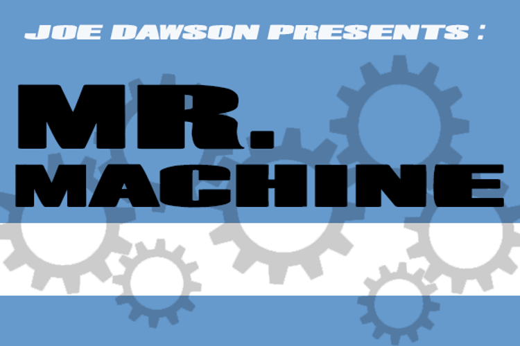 Mr. Machine Font