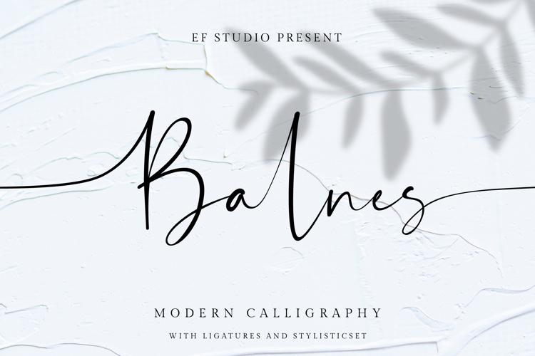 Balnes Font