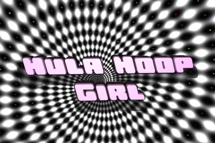 Hula Hoop Girl Font
