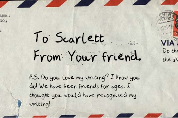 A Letter From a Friend Font