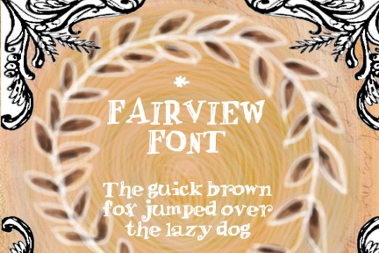 Fair view Font