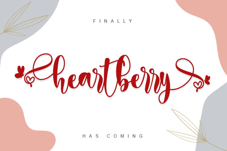 heartberry Font