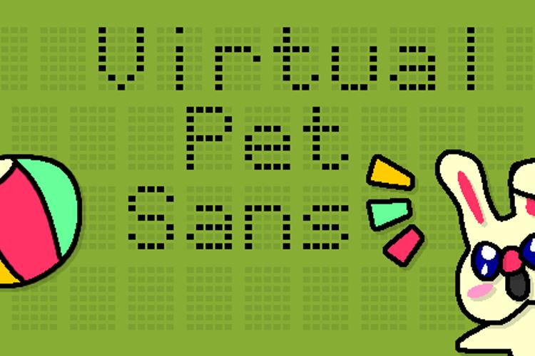 Virtual Pet Sans Font