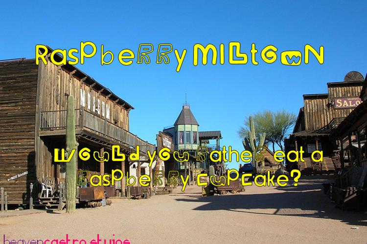Raspberry Miltown Font