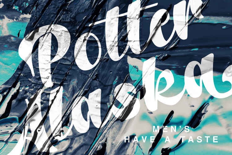 Potter Alaska Font