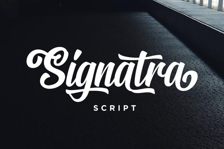 Signatra DEMO Font