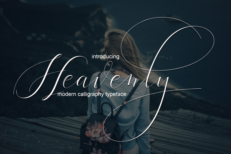 Heavenly Font